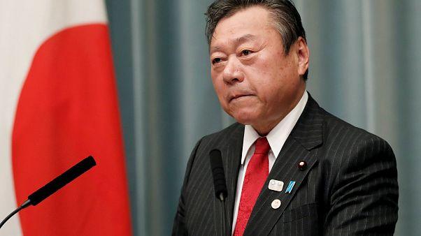 Lemondott a tokiói olimpiáért felelős miniszter