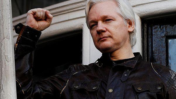 Wikileaks-Gründer Julian Assange in London in Gewahrsam genommen