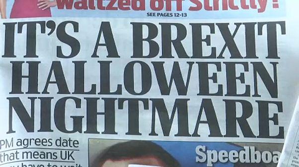 Les britanniques se réveillent avec un nouveau report du Brexit