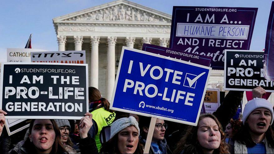 تظاهرات علیه سقط جنین