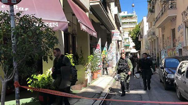 Выселение нелегалов в Афинах