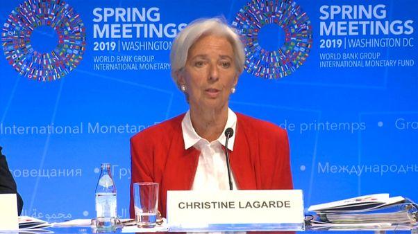 """Christine Lagarde: """"Brexit sem acordo teria sido um resutado terrível"""""""