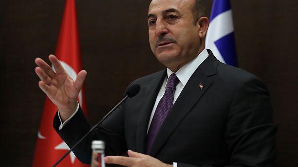 وزير الخارجية التركية مولود تشاووش أوغلو
