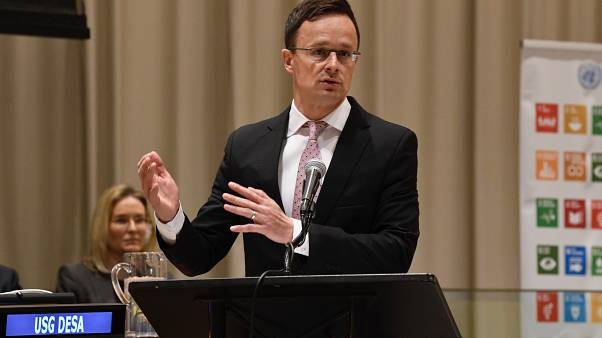 Szijjártó Péter felszólal az ECOSOC partnerségi fórumán