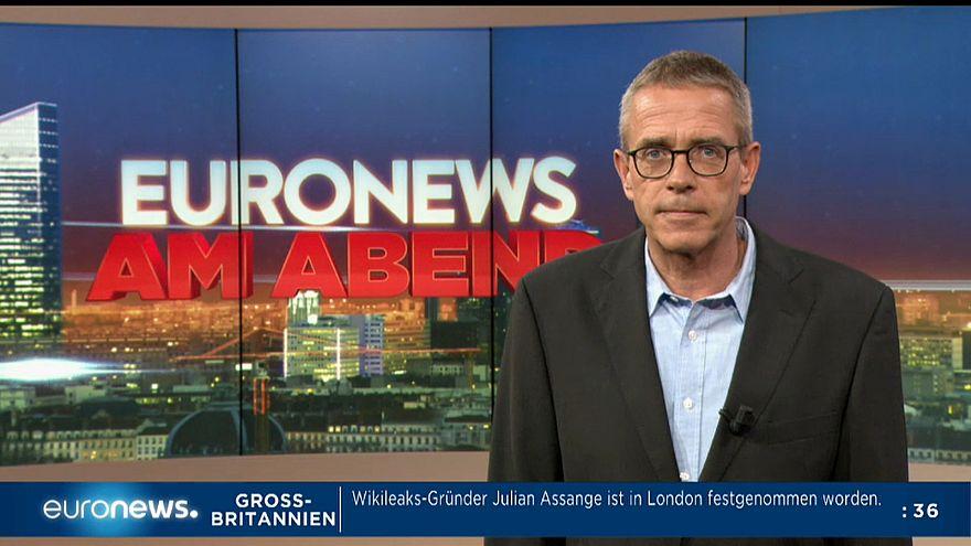Euronews am Abend 11.04.2019: Putsch und Masern mit Folgen