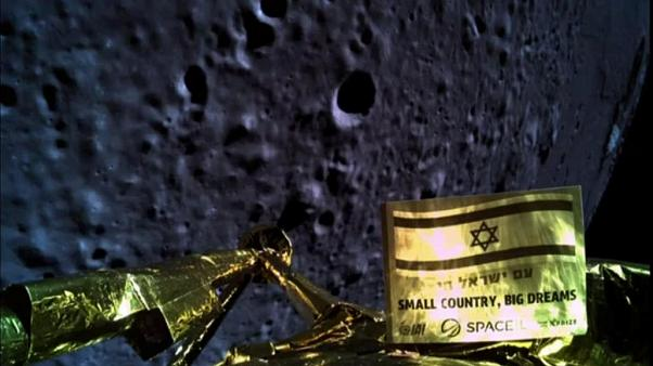 Israel's Beresheet spacecraft fails in moon landing attempt