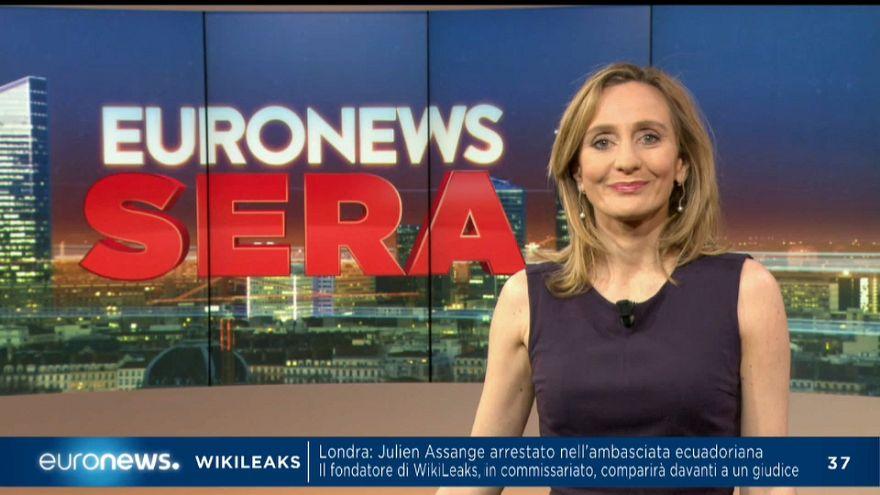 Euronews sera, l'attualità dell'11 aprile