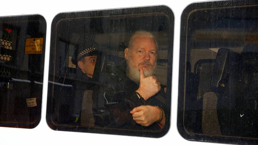 Ecuadorian authorities arrest 'close associate' of WikiLeaks' Julian Assange