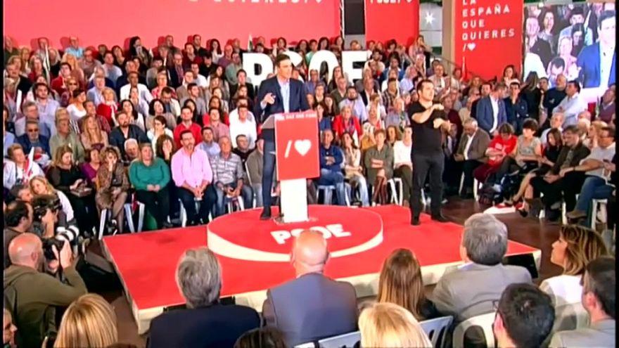 Comienza una reñida campaña electoral en España