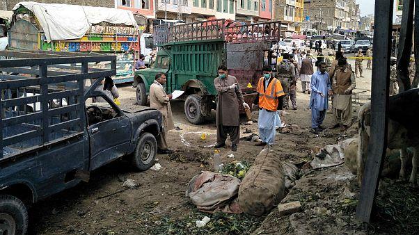 انفجار بمب در محله شیعهنشین کویته پاکستان دستکم ۱۶ کشته برجای گذاشت
