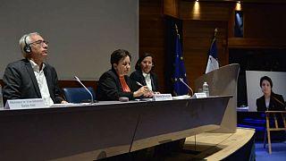 سخنرانی شیرین عبادی درباره نسرین ستوده در جلسه کانون وکلای پاریس