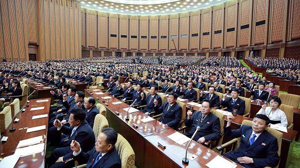 Kuzey Kore Halk Meclisi'nin 14'üncü toplantısı