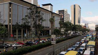 وسط العاصمة الكينية نيروبي