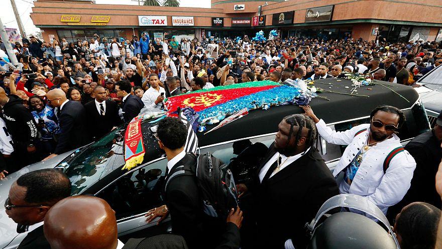 Tödliche Schüsse bei Beerdigung des erschossenen Rappers Nipsey Hussle