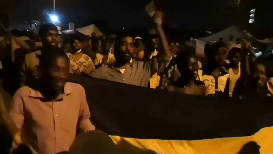 مسيرات سودانية مساء الخميس