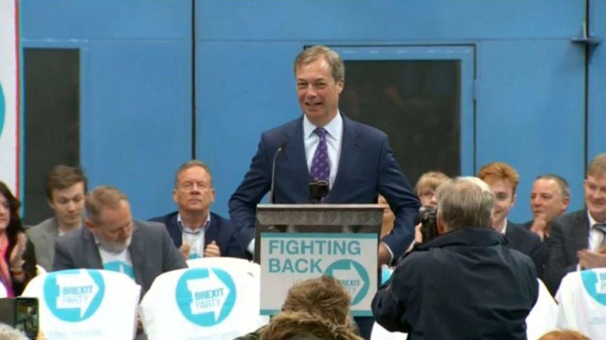 Nigel Farage eröffnet den Wahlkampf seiner neuen Brexit-Partei