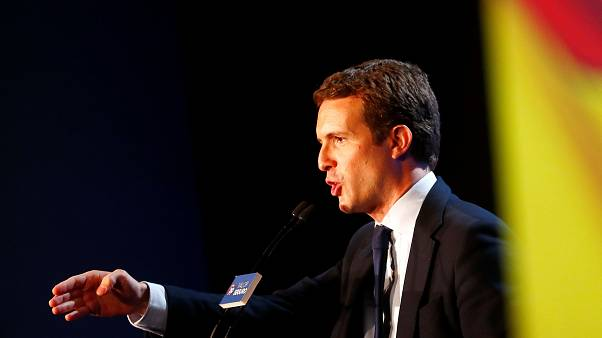 Pablo Casado candidato do PP