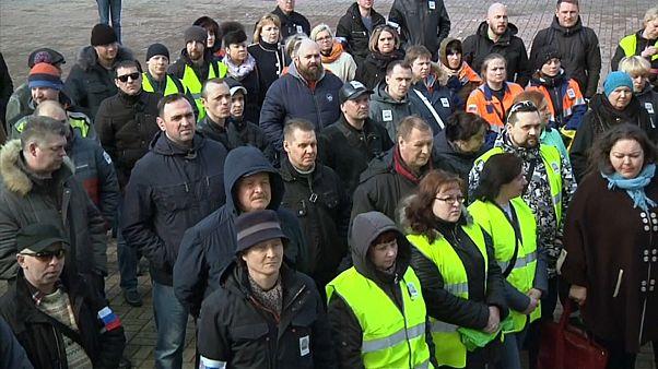 """Ford-Arbeiter protestieren gegen """"faschistische Methoden"""""""