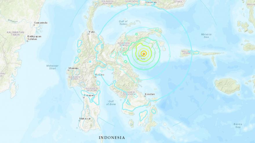 Tsunami warning lifted in Indonesia after 6.8 magnitude earthquake off coast