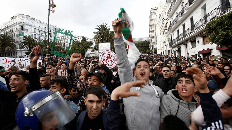 Watch again: Fresh protests erupt in Algeria after Friday prayers, police arrest 108 people