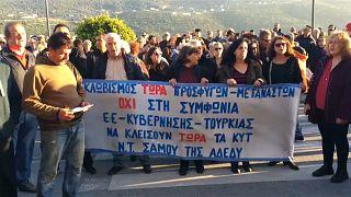 Migranten auf Samos: Griechen haben kein Krankenhaus mehr