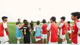 """""""كرة القدم"""" و""""الركبي"""" و""""الكريكيت""""... أكاديميات الرياضة قطاع مزدهر في دبي"""