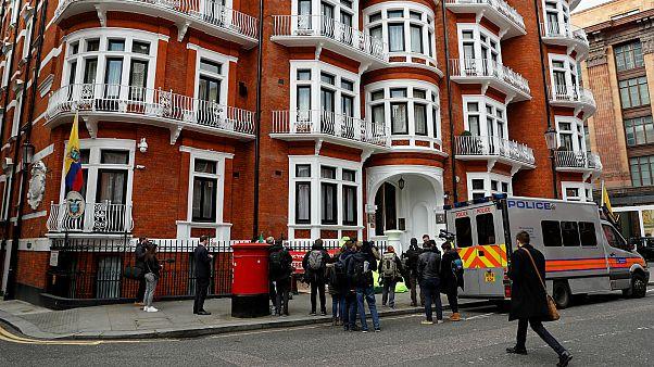 مقر سفارة الإكوادور في لندن