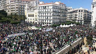 تظاهرات بزرگ در الجزایر