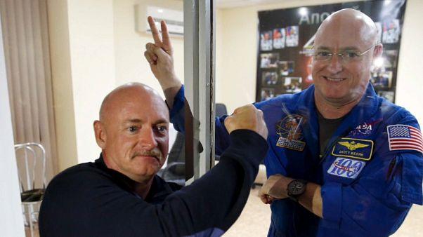 Espace : les frères Kelly, jumeaux cobayes