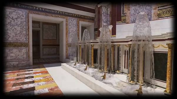 The lavish decoration was intended to reflect Nero's status