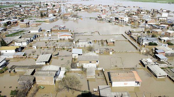 مناطق سیل زده در استان مازندران