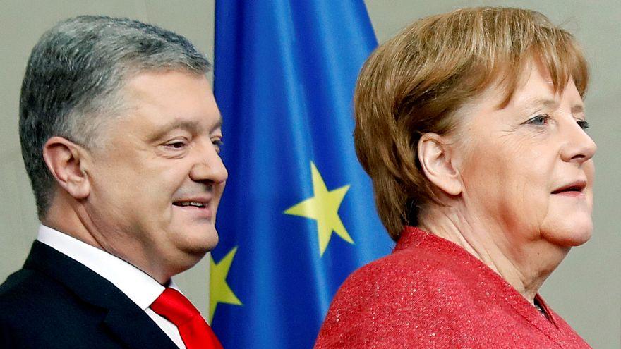 Ukrainischer Wahlkampf in Paris und Berlin