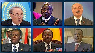 """Das sind 6 """"Duracell""""-Präsidenten: sie sind schon ewig an der Macht"""