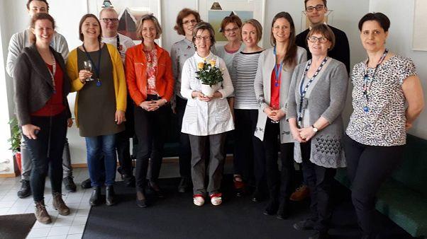 Takarítónőjét ünnepli a finn nagykövetség
