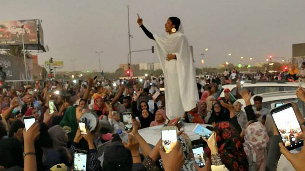 الاء صلاح، نماد جنبش اعتراضی سودان