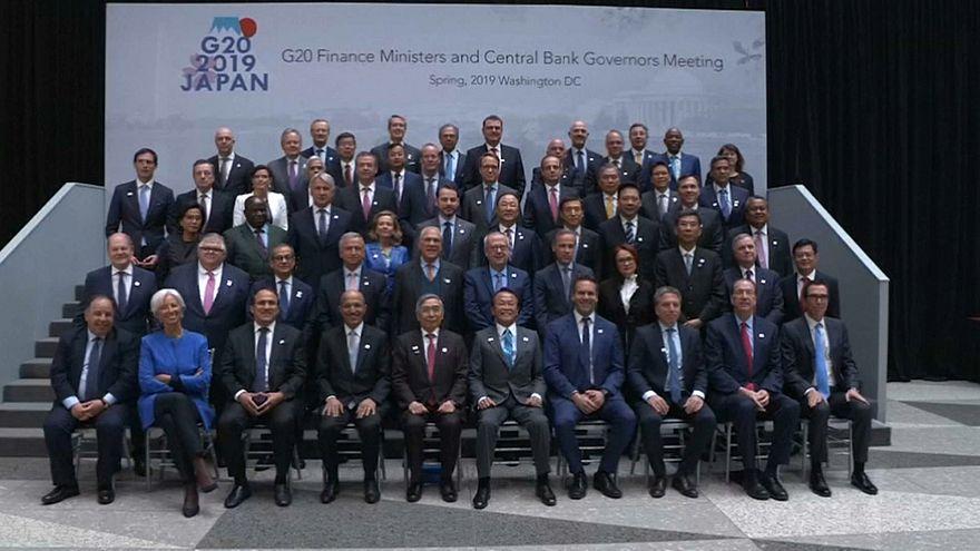 Arrefecimento económico preocupa G20