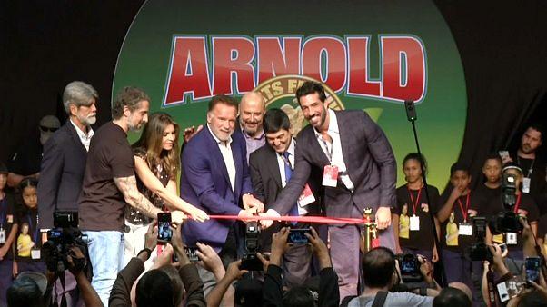 Brazíliába utazott Schwarzenegger sportfesztiválja