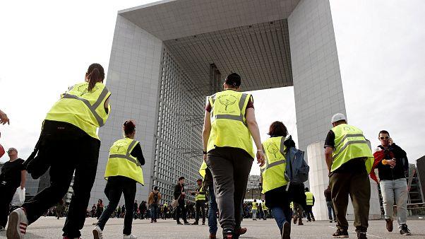 22. Akt: Gelbwesten protestieren in Toulouse