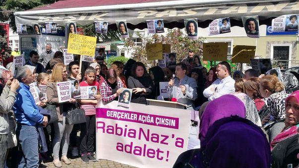 Ölümünün birinci yılında Türkiye çapında 'Rabia Naz için Adalet' eylemleri