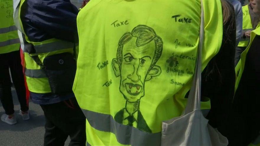 Manifestación 22 de los chalecos amarillos en Francia