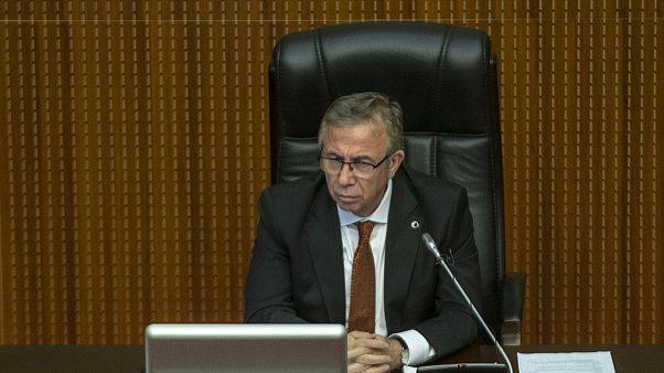 Mansur Yavaş ilk meclis toplantısı