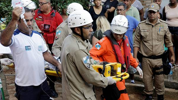 Hunt for survivors after deadly building collapse in Brazil