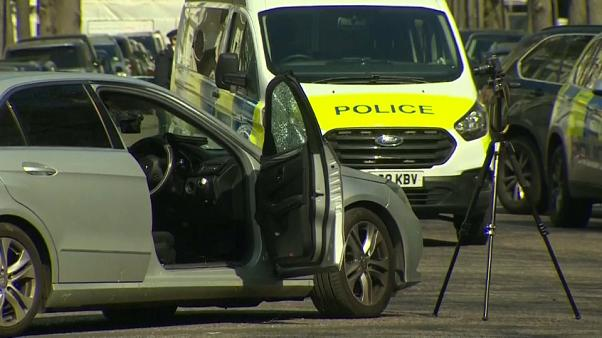 Embestido el coche de la embajadora de Ucrania en Londres