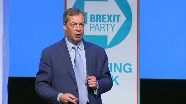 Η πρώτη ομιλία Φάρατζ ως αρχηγού του «Brexit»
