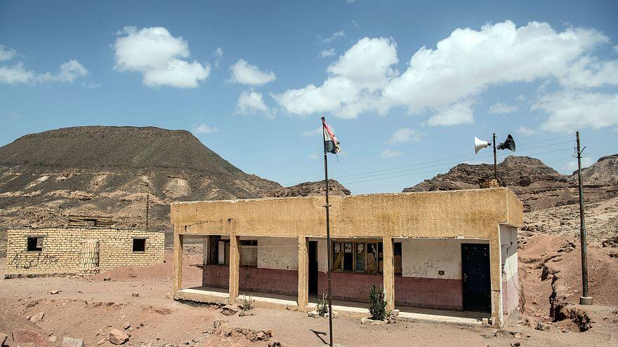 قرية الحمادة في وادي الساهو جنوب محافظة سيناء