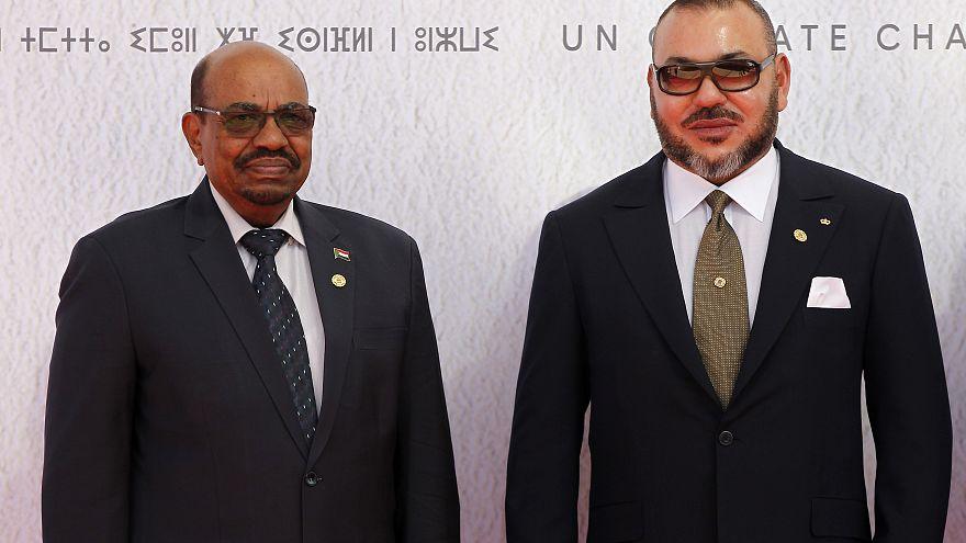 العاهل المغربي محمد السادس والرئيس السوداني المخلوع عمر البشير/نوفمبر 2016