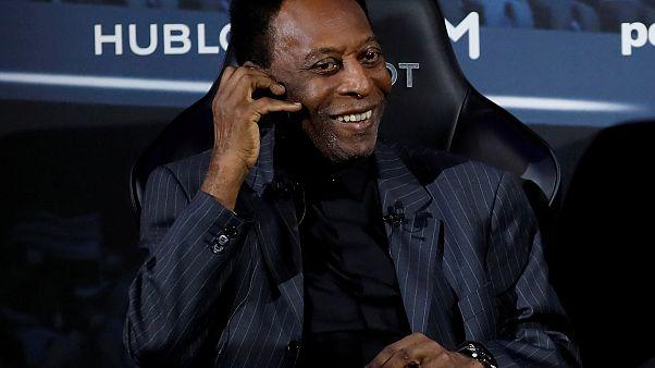 Pelé operado com sucesso a um cálculo renal em São Paulo