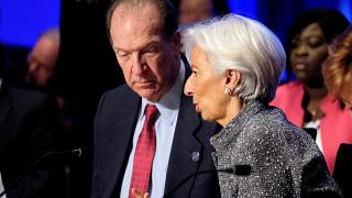 The IMF stands by to help Venezuela once it's decided who's in charge