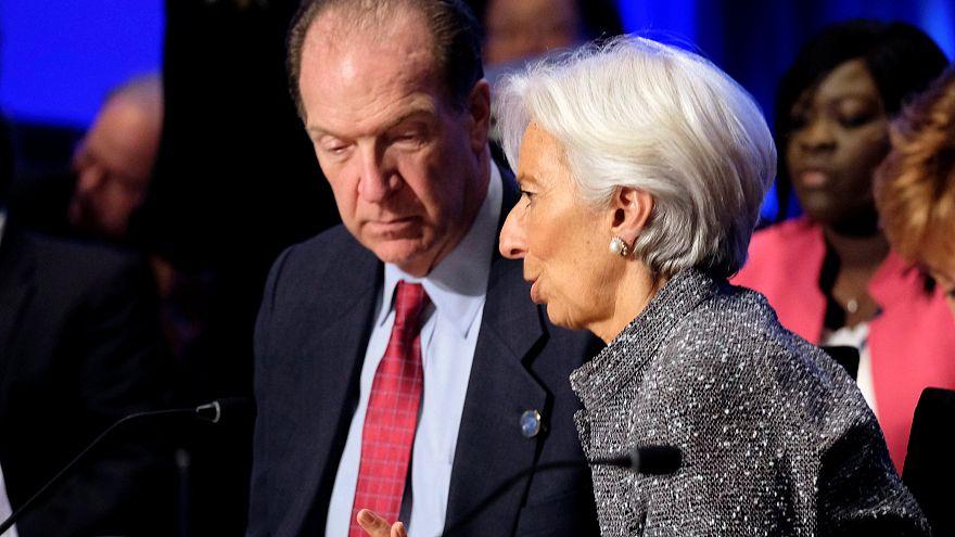 Lagarde reconoce falta de consenso sobre la legitimidad de Guaidó