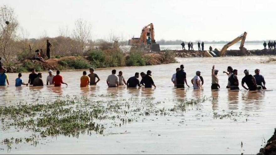 سیل در ایران؛ مواجهه ۵ استان با سیلاب و طغیان آب رودخانهها